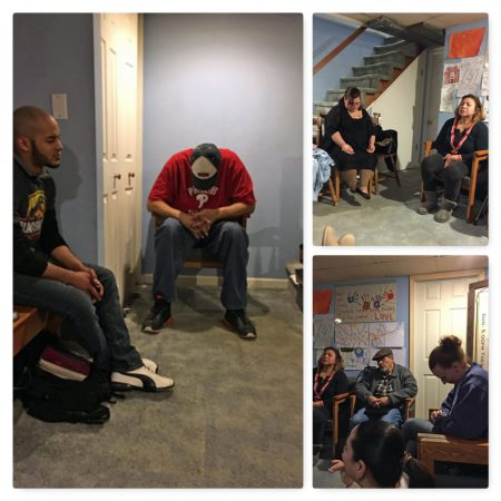 Prayer with thePastors