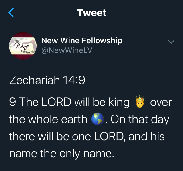 The Lord Comes and Reigns