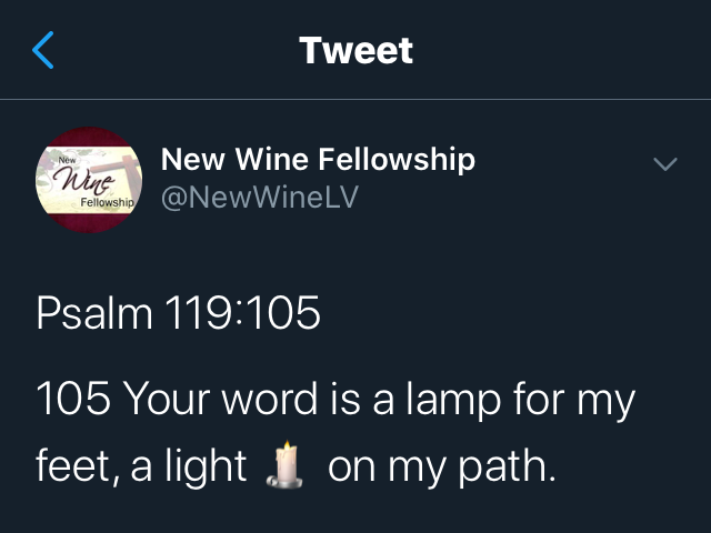 A Light on My Path
