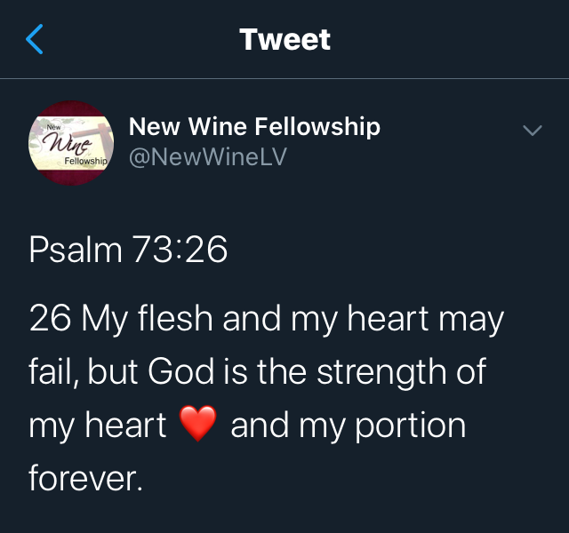 The Strength of My Heart